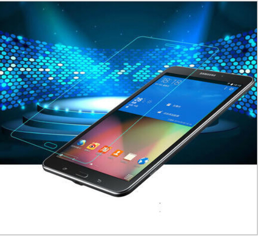 2.5D Edge 9H For Samsung T230\T231\T235\GALAXY Tab4 Tab 4 7.0  tempered Glass Screen Protector Film Explosion-Proof Function<br><br>Aliexpress