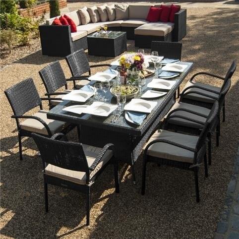 Online kopen wholesale rotan eettafel en stoelen uit china for Rotan eettafel stoel