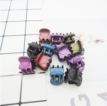 20 pcs/sets Fashion Women crab Hair claw clip Girls Brown Black Plastic Mini Hairpin Claws Hair Clip Clamp For Women Gifts jewe(China)