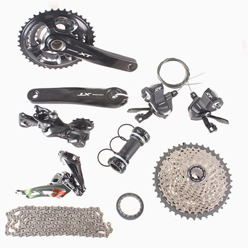 SHIMANO DEORE XT 40-30-22T M8000 3x11 11 S 33 S Velocidad 170mm 11-40 T MTB Mountain Bike Groupset Del