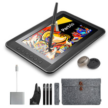 Parblo Mast10 10.1 inches Graphic Tablet Monitor with Shortcut Keys and Battery-free Pen Passive Stylus +USB 3.1 Type C Cable