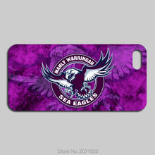 Manly Warringah Sea Eagles Case For iPhone 5 5S 5C 4S 6 6S Plus iPod Touch 5 4 For Samsung Galaxy S2 S3 S4 S5 Mini S6 S7 Edge