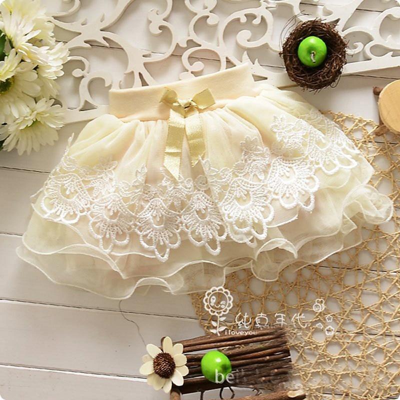 New Adorable Newborn  Toddler Baby Girls Kids Princess Mini Bust Skirt Tutu Bow Dress Short Skirt