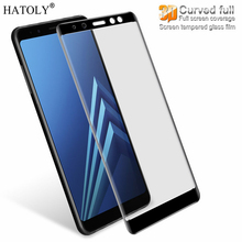 Buy Tempered Glass Samsung Galaxy A8 2018 Glass Screen Protector Samsung Galaxy A8 2018 Glass Protective Full Coverage Film) for $1.66 in AliExpress store