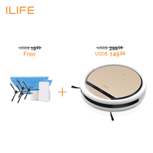 ILIFE V5s Robot vacuum cleaner,one robot,two choices,dry+wet clean, house sweeping cleaning, mopping cleanning,300ml water tank