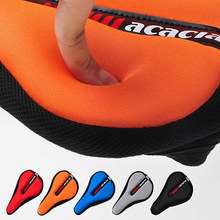 3D Bicycle Saddle Bike Seat High-grade Bicycle Seat Cover Cycling Saddle Mountain Bike Breathable Ride Thickening Soft 5 Colors(China)