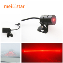 Anti Collision Car Laser Tail 12v led Fog Lights Auto Brake Parking Car-Styling Warning Lights Car Styling Accessories For Ford