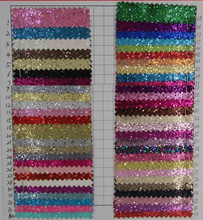 PVC fabric leather mesh Glitter special leather / Laser Star glitter leather fabric(China)