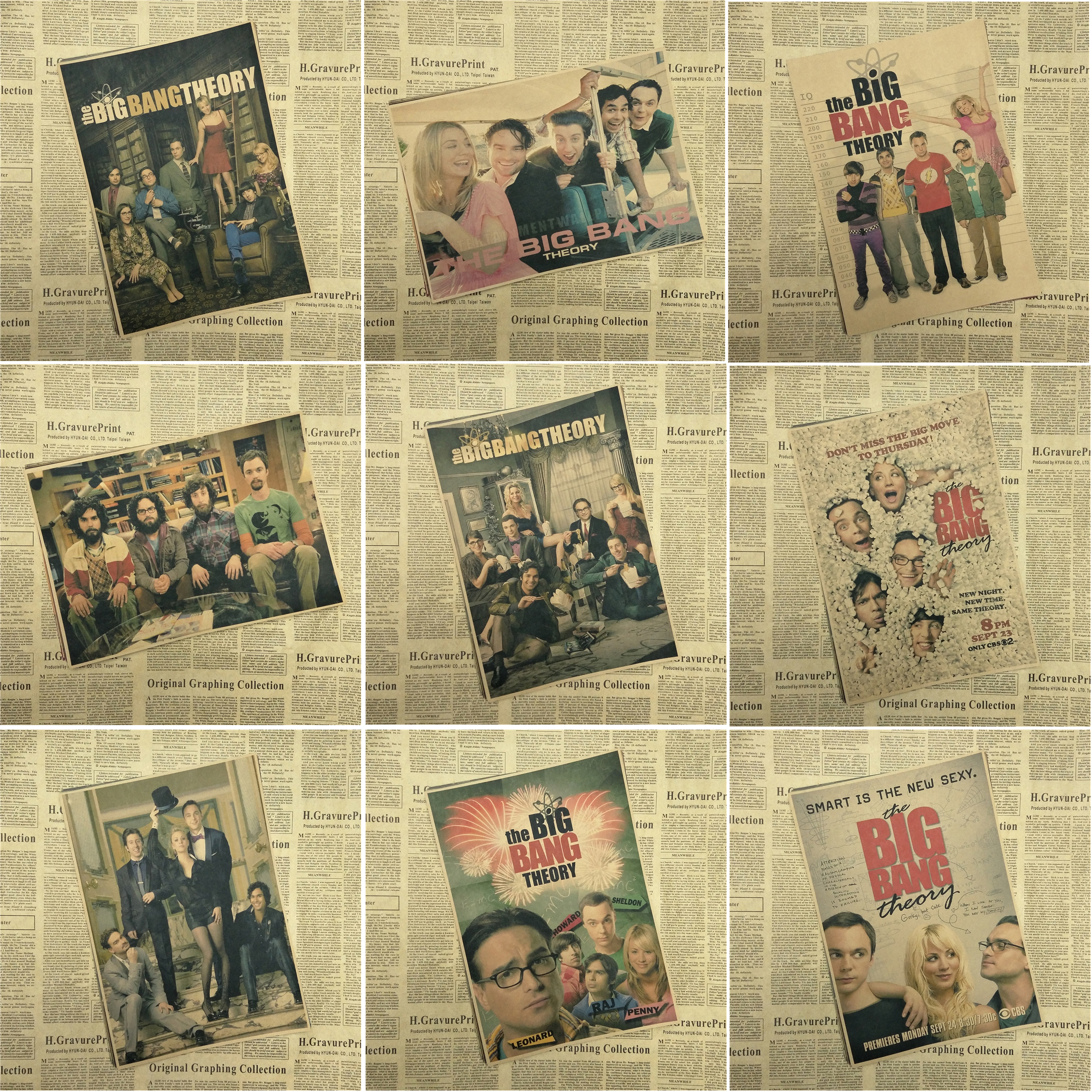 The Big Bang TheoryTBBT posters core kraft sheldon Jim Parsons ...