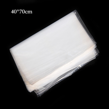 40x70cm 7dmm PE High Pressure Bag LDPE Flat Waterproof Pocket Transparent Storage Bags Pocket Plastic Bag Kitchen Fresh Bags(China)