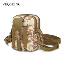 Molle Tactical Shoulder Bag Outdoor waist bag For Camping Hiking Hunting Waterproof EDC Bag Waist Pack For Phone 3 Colors(China)