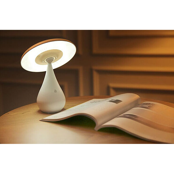 Cute Mushroom Shaped USB Adjustable Healthy Anion Air Purifier LED Light Rechargeable Table Desk Night Lamp Home Decor<br><br>Aliexpress