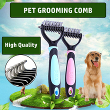 Dog Open Smooth Pet Hair Removal Comb Grooming Combs Brush Pet Massage Cepillo Perro Purifying Toilettage Animal Product 70Z1376