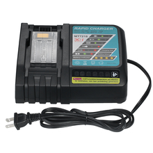6.5A Rapid Li-ion Battery Charger Replacement for Makita power tool Screwdriver DC18RC/18RA  BL183 /1815 /1840 /1850 14.4V-18V