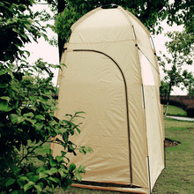 Free shipping Portable Outdoor Shower Tent Toilet Tent Bath Changing Fitting Room Beach Privacy Shelter Tent Travel Camping Tent(China)