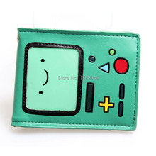 Cartoon adventure time wallet adventure ended old dog Short animated cartoon girls boys a wallet DFT-1047(China)