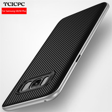 TCICPC Case For Samsung galaxy S8 S8 plus TPU+PC frame back cover High quality protective case for Samsung S8 Galaxy S8 plus(China)