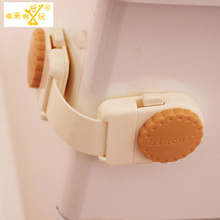 1 Pic Child locks walker for children on wheels watch women baby safety child safety blocker door child Refrigerator lock TAQS40
