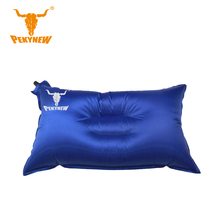 PKN-A3002 automatic inflatable pillow 55x30CM plastic gas nozzle recreational camping pillow with a pillow