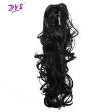 Deyngs Ponytail Extensions 24 inches 160g Synthetic Tress Claw In Pony Tail Hair Extension For Women Naturally False Hairpiece(China)
