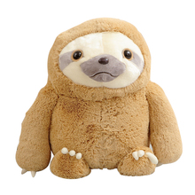 1pc 40cm New Crazy Animal City Cute Sloth The Anime Movie Zootopia Sloth Flash Stuffed Animals Cute Doll For Girl(China)