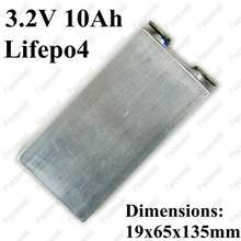 12pcs 3.2v 10ah lifepo4 battery 10ah 3.2v / lifepo4 cells 5C for bike lifepo4 36v 10ah battery pack electric vehicle power tool(China)