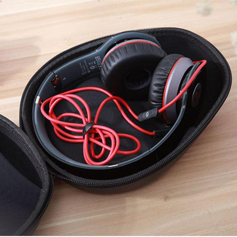 Portable Shockproof Headphone Bag Earphone Case Headset Carry Pouch Storage Bag Hard Box Accessories For Sony Xiaomi Headphone