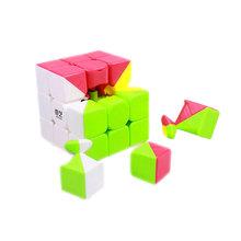 Qi Yi Cube 3x3x3 Warrior Boys Magic Cube Puzzle Cubes Speed Cubo Square Puzzle Without Stickers Educational Gifts Toys for kid.