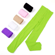 15colors Kids Girls Baby Soft Pantyhose Tights Stockings Ballet Dance Velvet XS/S/M/L/XL ZL073(China)