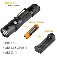Fenix PD32  +batteries ARB-L18-3500+ charger ARE-X1