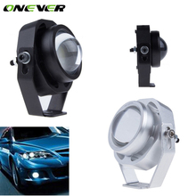 2Pcs Waterproof Car DRL LED Eagle Eye Light 10W Warm / Cool White Car Fog Daytime Running Light Reverse Backup Parking Lamp(China)