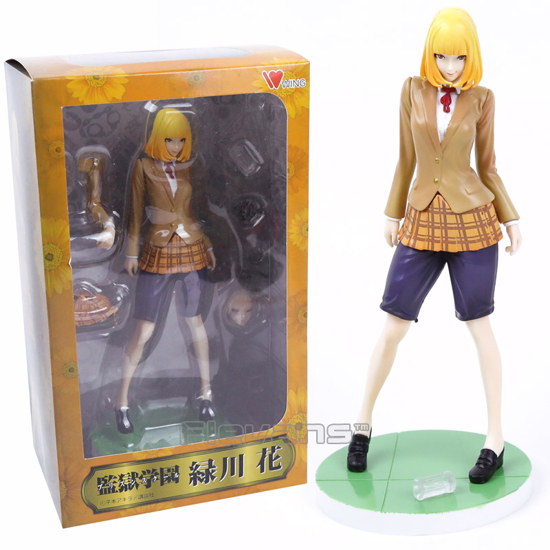 Wing Prison School Midorikawa Hana 1//7 Scale PVC Figure New No Box 21cm