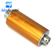 Mofaner Motorcycle Scooter Exhaust Muffler Silencer Pipe For 50 110 125 CC PIT DIRT BIKE