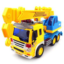 Kids Car Model Toys Little Boy Engineering Vehicles Crane Toys Shatterproof Safe Children Car Toys Birthday New Year Gifts