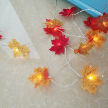Novelty maple leaf fairy garland light , 3M 20 leds Fashion Holiday garland ,wedding event party supplies, home decoration
