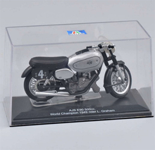 Italeri Moto Model 1/22 Scale NO.4 AJS E90 500 cc Motorcycle World Champion 1949 Diecast Moto Model KidsToys Boy Gifts(China)