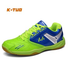 K-TUO New Arrival Men Badminton Shoes Professional Male Sport Shoes Men's Sneakers Cushioning Breathable Students Shoes L03(China)