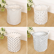 35*40cm Hot Folding laundry storage bag,Corss Star Dot Tree storage barrel,Baby Kids toy clothing storage basket Room Decor(China)