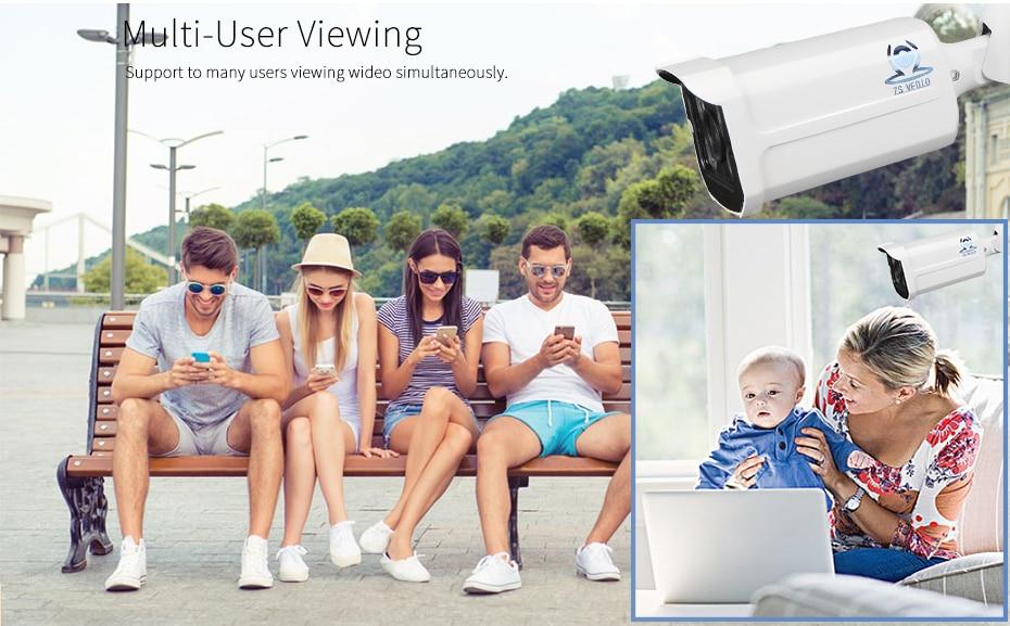 ZSVEDIO CCTV Monitor IP Camera Wi-fi IP Cameras Wifi Outdoor Alarm System Waterproof Wireless NVR 720P960P1080P 2MP HD Webcam (13)