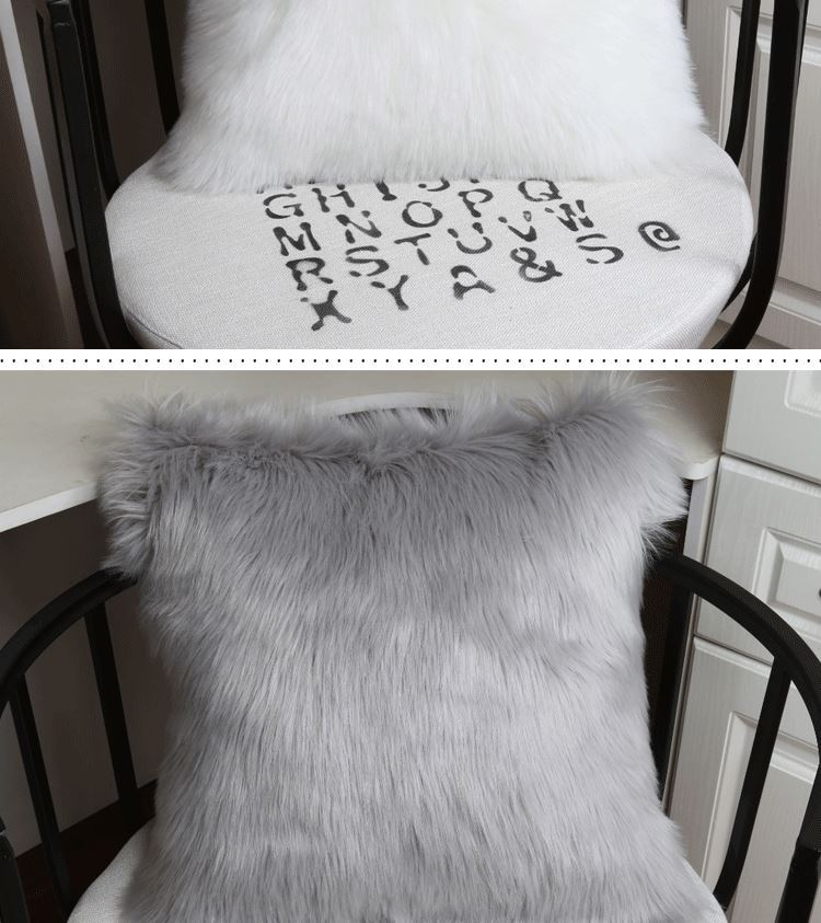 Faux Fur Pillowcases