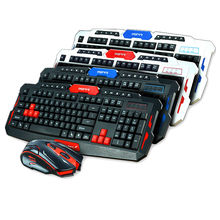New  2.4G Wireless Keyboard Mouse Set Support  Win10    Game Keyboard Mouse  Combo
