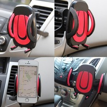 360 Car Air Vent Phone Holder Stand Mount Cradle Cell Mobile Support For iPhone Samsung Huawei Oneplus Xiaomi LG Sony HTC GPS