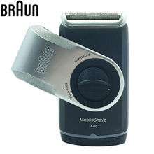 Braun Electric Razor Shavers M60 Mobile shave Portable Washable Safety power Shaving & Hair Removal shaving Razor Face Care(China)