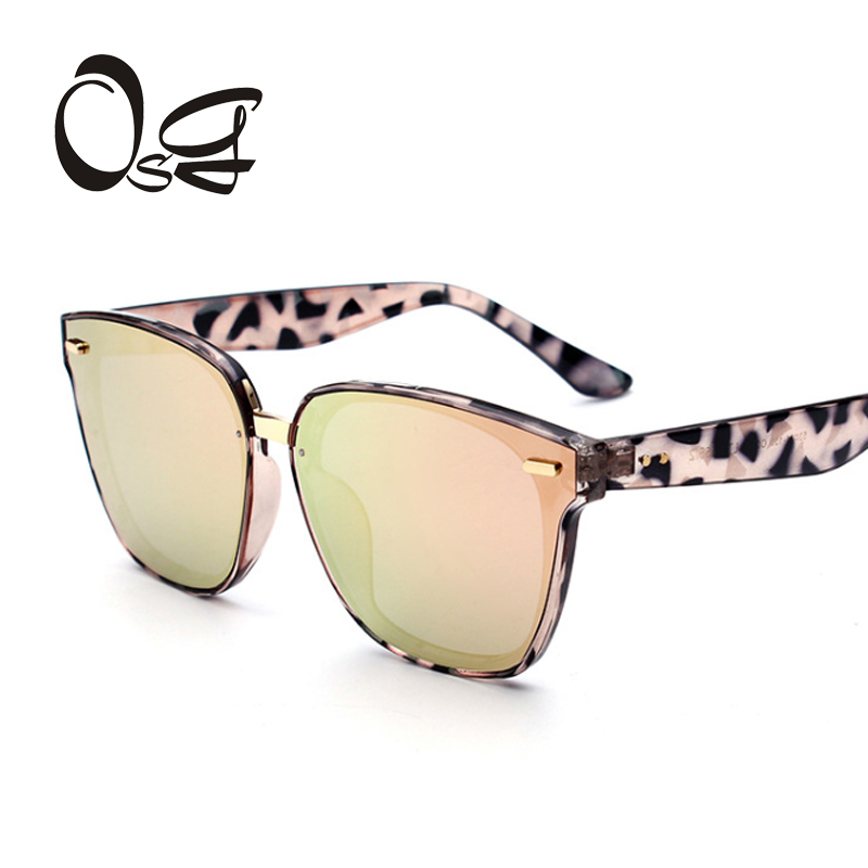 OSG New Fashion Women Sunglasses Cat Mirror Glasses CatEye Sung lasses Womens Brand Designer High Quality sunglass gafas de sol<br><br>Aliexpress