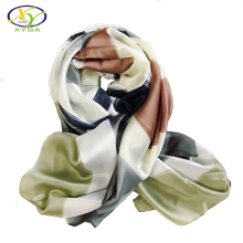 1PC 180*90cm 2017 Spring New Arrival Silk & Satin Women Long Scarf Thin Woman New Fashion Big Size Thin Shawls Pashminas(China)