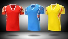 New badminton Men's shirt , sportswear men CHINA sleeved Tennis shirt , Dry-Cool CHEN LONG jerseys 201#
