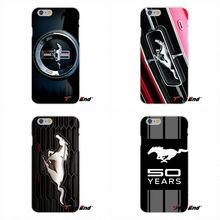 For Ford Mustang GT Concept Logo For HTC One M7 M8 A9 M9 E9 Plus Desire 630 530 626 628 816 820 Silicone Phone Case(China)