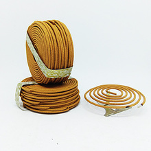 T 48pcs/Box Natural Coil Incense Burning 3 Hours with Sandalwood Jasmine Smell Fragrance Indoor Aromatic Indian Buddhist Incense(China)