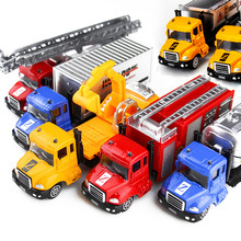 1:64 Alloy Engineering Toy Car Mining Car Truck Children's Birthday Present toys for children Diecasts & Toy Vehicles 2016.11(China)