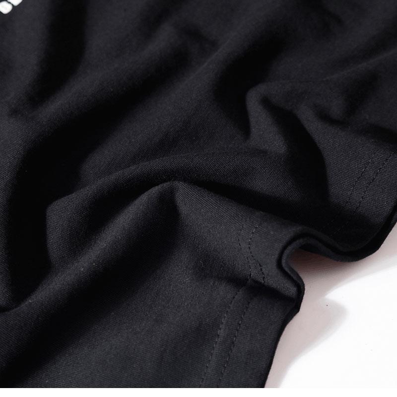 Japanese Embroidery Crane Waves Tshirts 8